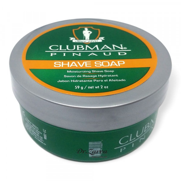 Мыло для бритья Clubman Pinaud SHAVE SOAP 59 г