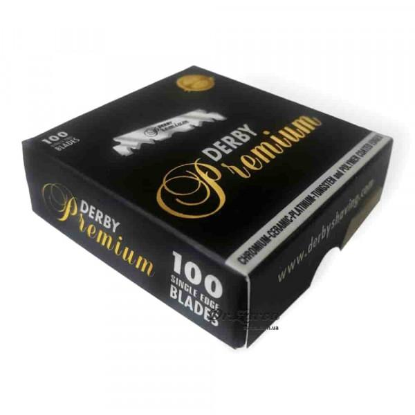 Лезвия для опасных бритв (шаветт) Derby PREMIUM PROFESSIONAL половинки 100 шт