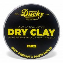 Глина для укладки волос Ducky Dry Clay VANILLA + SANDALWOOD 80 мл