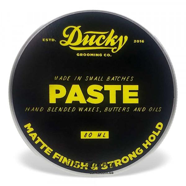 Паста для укладки волос Ducky MATTE PASTE древесный 80 мл
