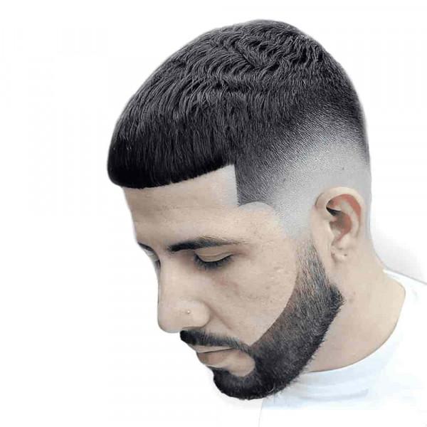 Полуперманентная (полустойкая) краска для бороды Elegance Semi-Permanent Hair Color черная 120 мл