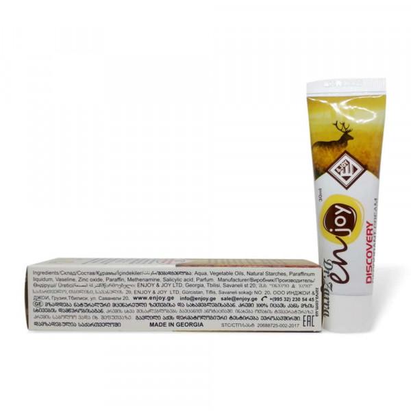 Еко дезодорант крем Enjoy DISCOVERY в тюбику 30 мл