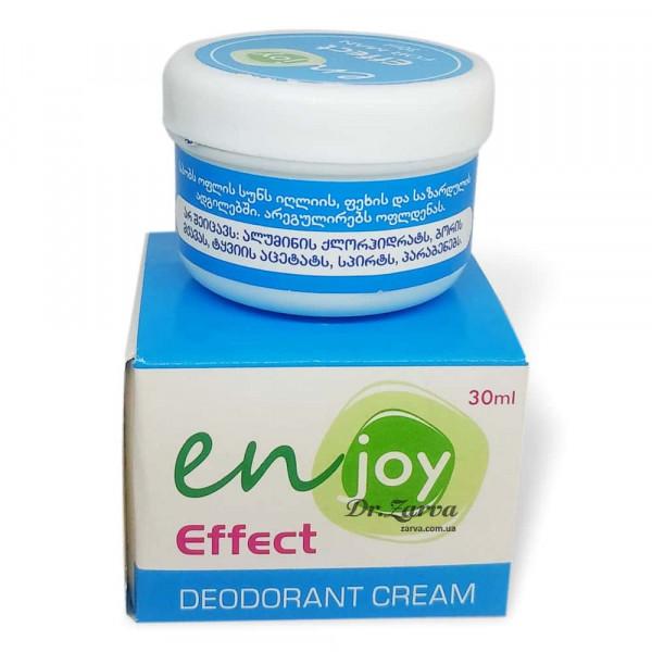 Еко дезодорант крем Enjoy FOR MAN в баночці 30 мл