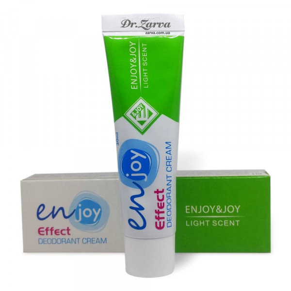 Еко дезодорант крем Enjoy LIGHT SCENT в тюбику 30 мл