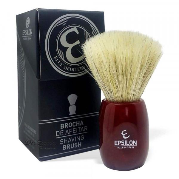 Помазок для бритья Epsilon Shave Brush FAN SHAPE 12705B Лошадь