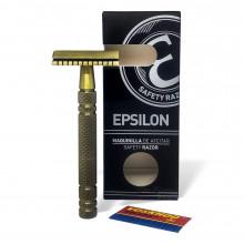 Станок для бритья Т-образный Epsilon BRONZE Safety Razor