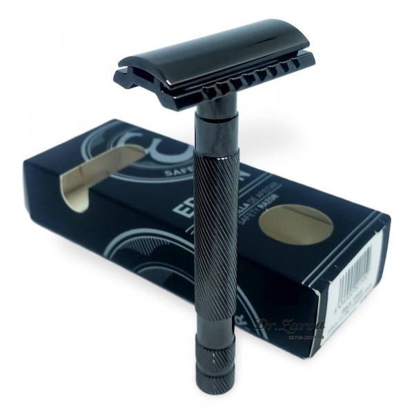 Станок для бритья Т-образный Epsilon Gunmetal Safety Razor