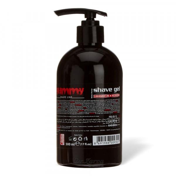 Гель для бритья Gummy Fonex Shave Gel with Pump Lavender 500 мл