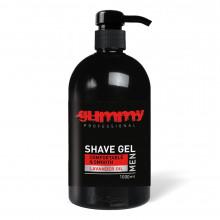 Гель для бритья Gummy Fonex Shave Gel with Pump Lavender (прозрачный) 1000 мл
