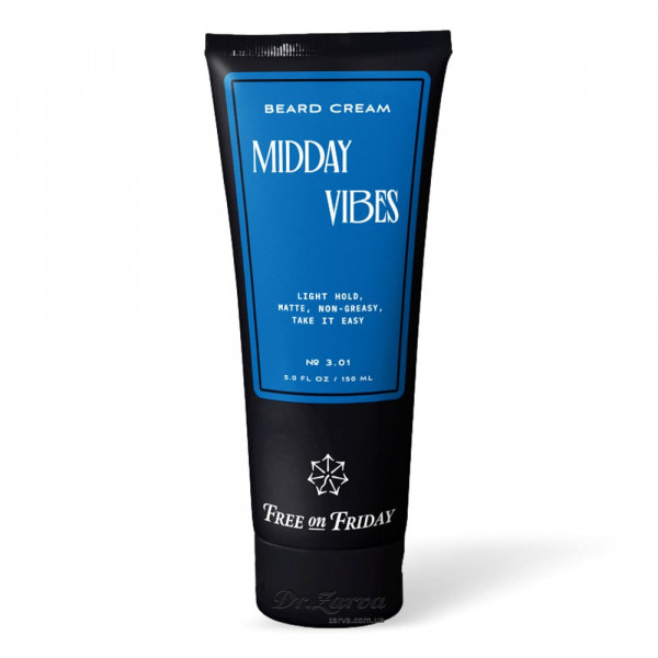 Крем для укладки бороды Free on Friday MIDDAY VIBES Beard Balm 150 мл