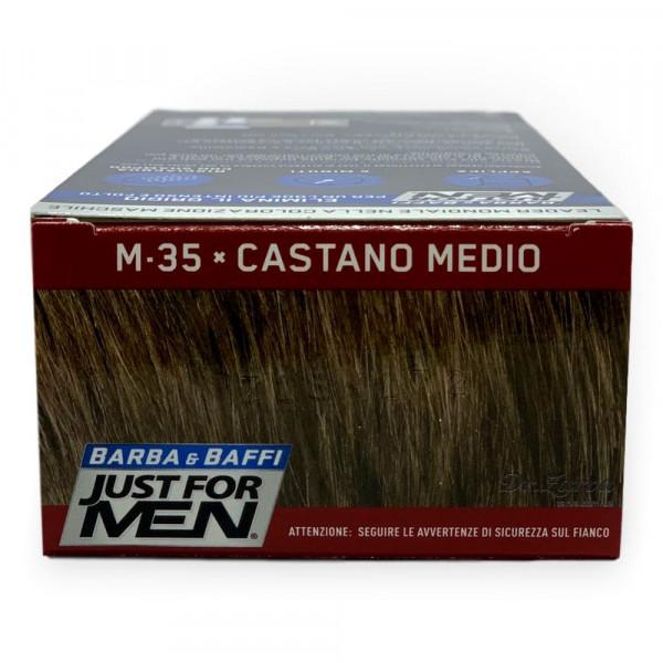 Краска для бороды и усов М35 Just For Men Medium Brown (без аммиака)