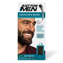 Краска для бороды и усов М45 Just For Men Dark Brown (без аммиака)