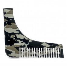 Гребінь для моделювання бороди Shaping Shaving Comb MILITARY
