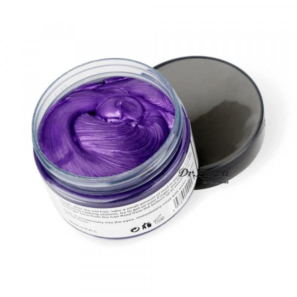 Окрашивающий крем воск для волос фиолетовый Purple Mofajang 120 мл