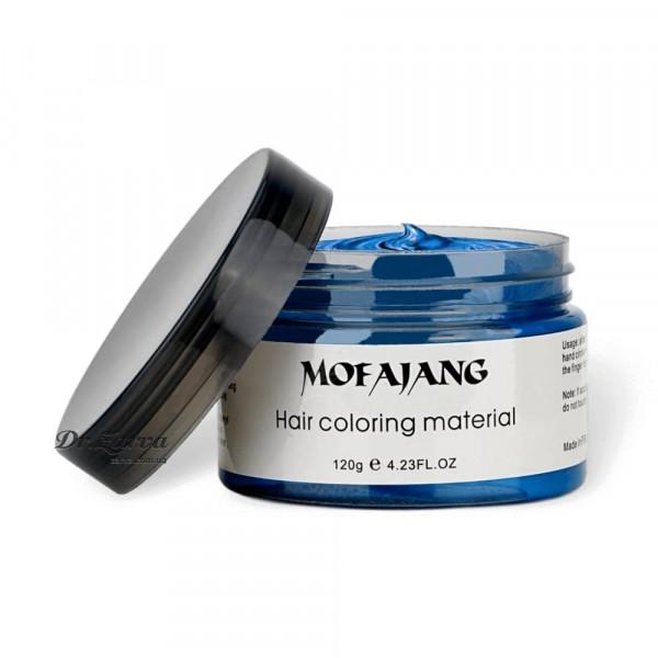 Забарвлюючий крем віск для волосся BLUE Mofajang 120 мл