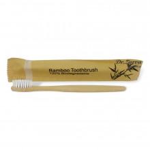 Зубная щетка из бамбука BAMBOO TOOTHBRUSH 100% Biodegradable (белая)