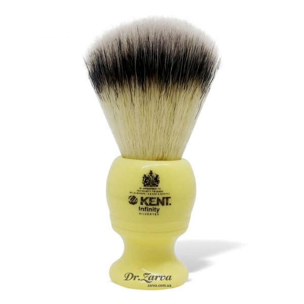 Помазок для бритья Kent INFINITY Silvertex Синтетика