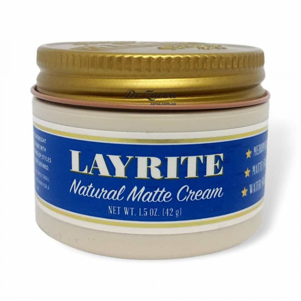 Помада для укладання волосся Layrite NATURAL MATTE CREAM 43 мл