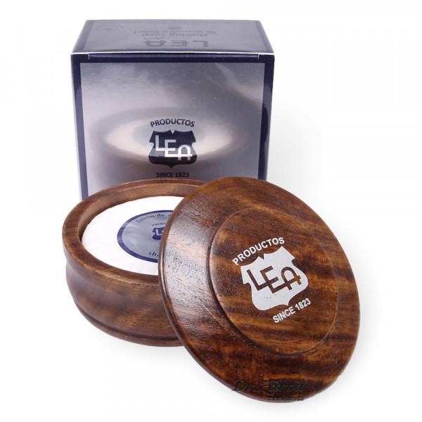 Мыло для бритья в чаше из дерева Lea CLASSIC SHAVING SOAP IN WOODEN BOWL 100 г