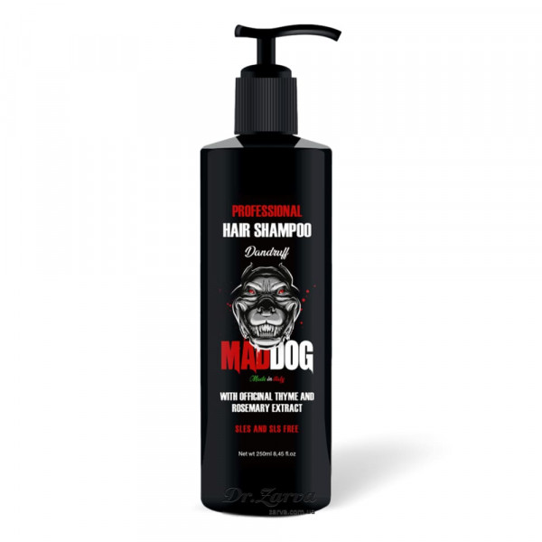 Шампунь против перхоти Mad Dog Professional Shampoo DANDRUFF 250 мл