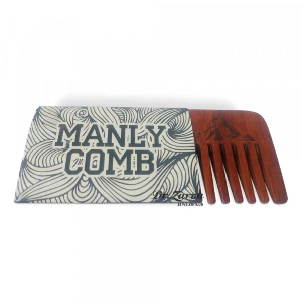 Дубовый гребень Manly Club BEARD COMB