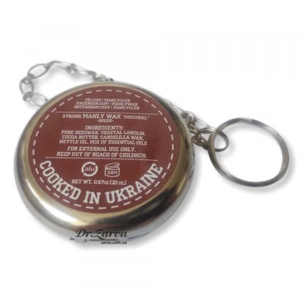 Воск для усов Manly Wax SPICED Подарочный 20 мл