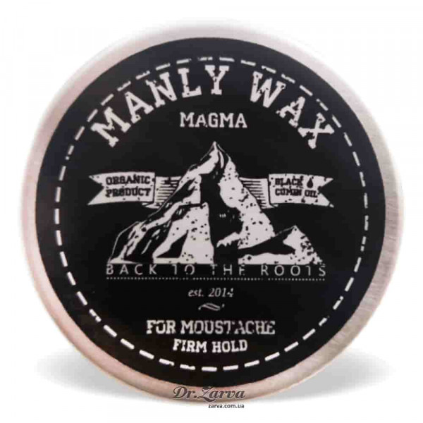Воск для усов Manly Wax MAGMA 15 мл