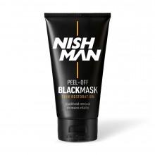Черная маска для лица Nishman Purifying BLACK MASK 150 мл