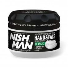 Крем для рук і обличчя Nishman Hand & Face Cream CLASSIC 300 мл