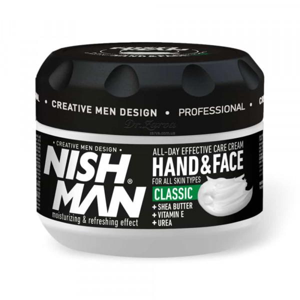 Крем для рук и лица Nishman Hand & Face Cream CLASSIC 300 мл