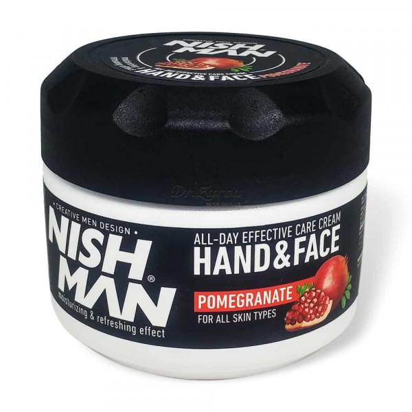 Крем для рук и лица Nishman Hand & Face Cream POMAGRANATE 300 мл