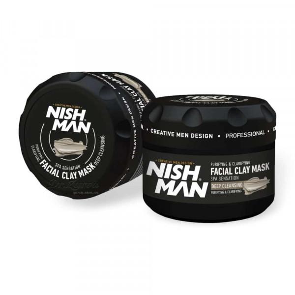 Маска для лица из глины Nishman FACE CLAY MASK 450 мл