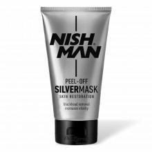 Серебряная маска для лица Nishman Peel-Off SILVER MASK Skin Restoration 150 мл
