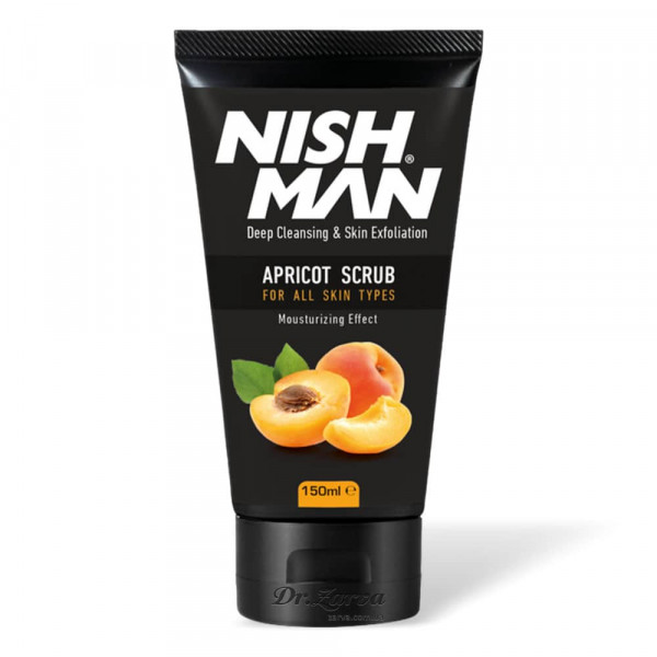 Скраб для лица Nishman Natural APRICOT Face Scrub 150 мл