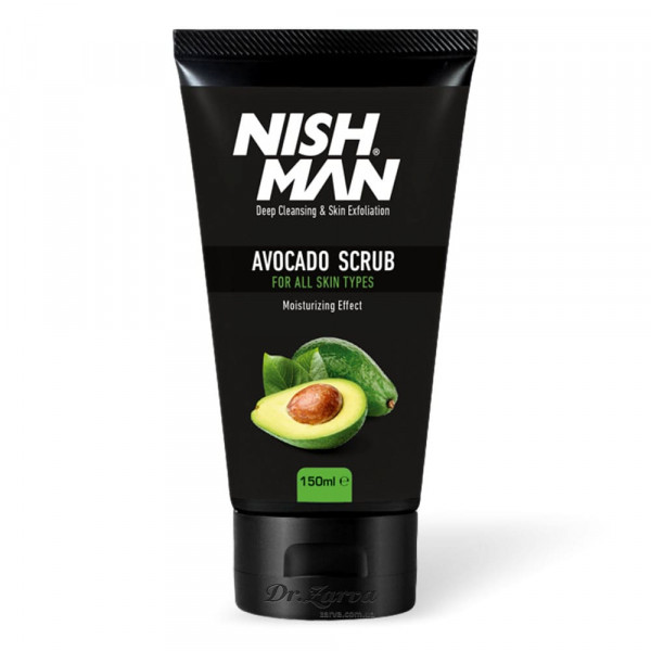 Скраб для лица Nishman Natural AVOCADO Face Scrub 150 мл