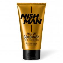 Золота маска для обличчя Nishman Purifying Peel Off GOLD MASK 150 мл