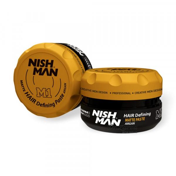 Паста для укладки волос Nishman HAIR DEFINING MATTE PASTE M1 100 мл