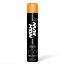 Лак для фиксации волос Nishman ULTRA STRONG №05 (очень сильная фиксация) 400 мл