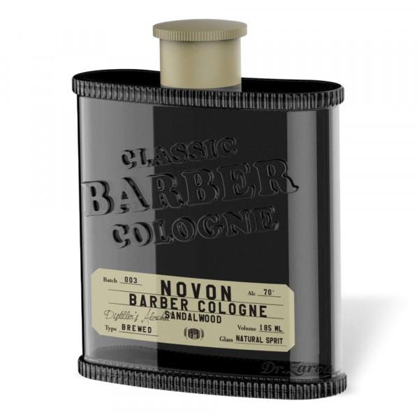 Одеколон Novon Classic Barber Cologne SANDALWOOD (черный) 185 мл