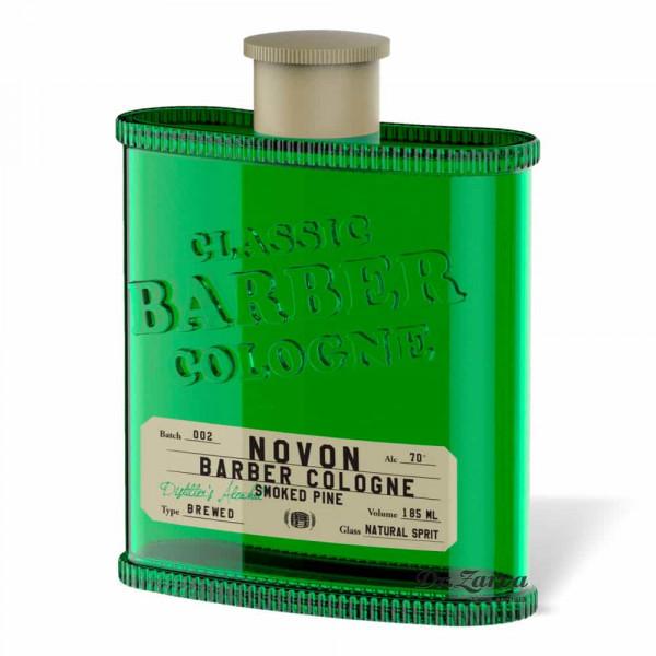 Одеколон Novon Classic Barber Cologne SMOKED PINE (зеленый) 185 мл