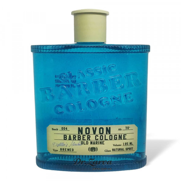 Одеколон Novon Classic Barber Cologne OLD MARINE (синий) 185 мл