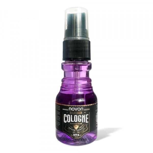 Одеколон после бритья Novon AFTER SHAVE COLOGNE №2 (фиолетовый) 35 мл