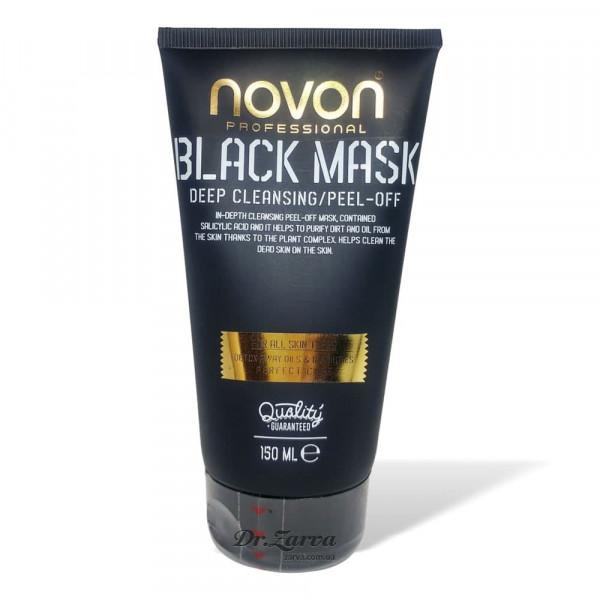 Черная маска для лица Novon BLACK MASK 150 мл