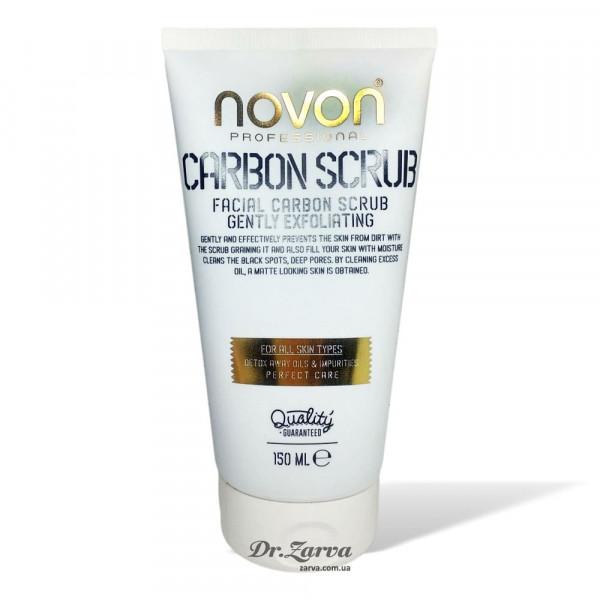 Скраб для лица Novon CARBON FACE SCRUB 150 мл