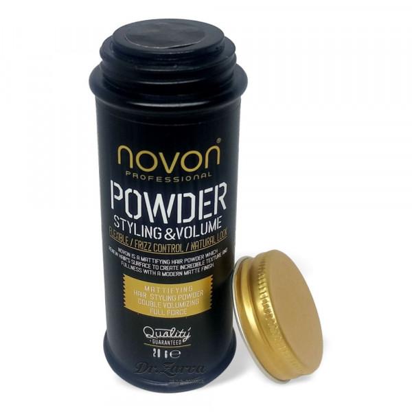 Пудра для укладки волос Novon Profesional POWDER STYLE & VOLUME 20 г