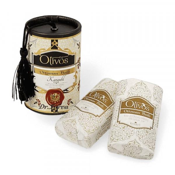 Натуральне оливкове мило Olivos Ottoman Bath CLOVE 2 x 100 г