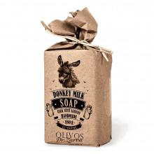 Натуральне оливкове мило Olivos DONKEY MILK з ослиним молоком 180 г