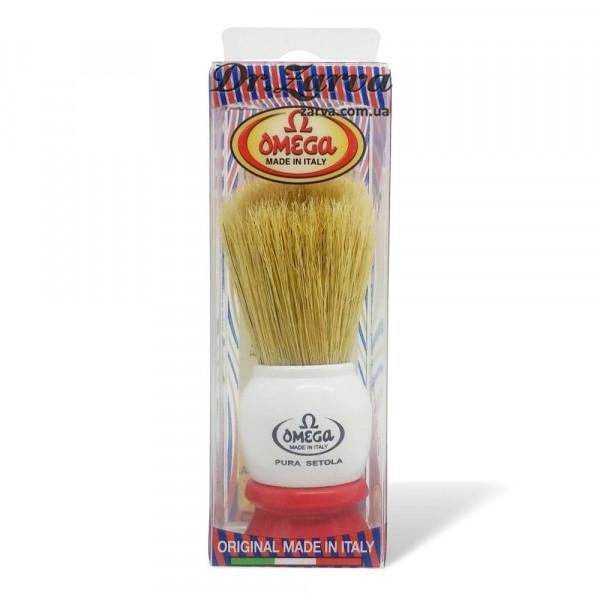 Помазок для бритья Omega 10075 Кабан
