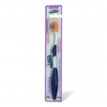 Зубная щетка Pasta del Capitano Toothbrush COMPLETE with Tongue Cleaner (фиолетовая)