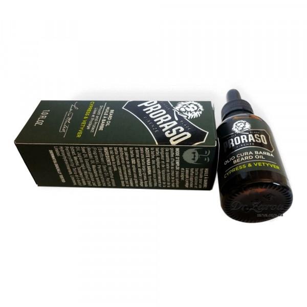 Масло для бороды Proraso CYPRESS & VETYVER 30 мл
